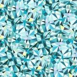 Картина формы треугольника безшовная Стоковые Изображения RF