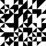 Картина форм треугольника геометрическая черная белизна бесплатная иллюстрация