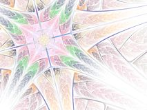 картина фрактали мягкая Стоковые Изображения
