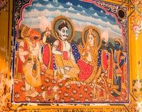 Картина фрески стоковая фотография rf