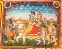 Картина фрески стоковое изображение