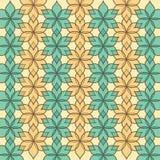 Картина флористических лист Стоковое Изображение