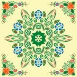 картина флористического орнамента безшовная Стоковое фото RF