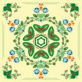 картина флористического орнамента безшовная Стоковое Изображение RF