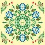 картина флористического орнамента безшовная Стоковые Изображения