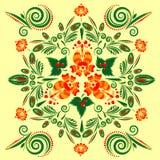 картина флористического орнамента безшовная Стоковое Изображение