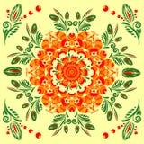 картина флористического орнамента безшовная Стоковая Фотография RF