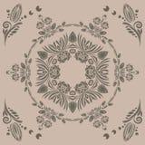 картина флористического орнамента безшовная Стоковые Фотографии RF