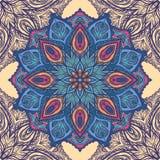 картина флористического орнамента безшовная Стоковая Фотография