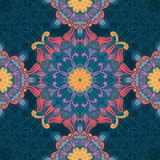картина флористического орнамента безшовная Стоковые Изображения RF