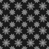 Картина хеллоуина безшовная с сетями паука Стоковое фото RF