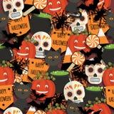 Картина хеллоуина иллюстрация штока