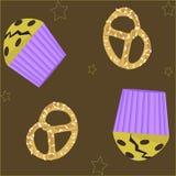 Картина хлебопекарни иллюстрация штока