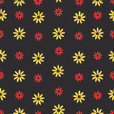 Картина цвета безшовного цветка красивая вектор Стоковые Фотографии RF