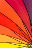 Картина цвета зонтика Стоковые Изображения RF