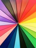 Картина цвета предпосылки зонтика Стоковая Фотография