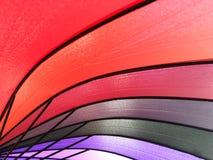 Картина цвета предпосылки зонтика Стоковое Фото