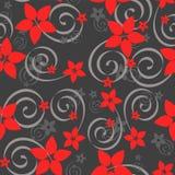 картина цветка безшовная Стоковое Фото