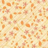 Картина цветка безшовная Бесплатная Иллюстрация