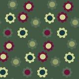 картина цветка безшовная Стоковое Изображение RF