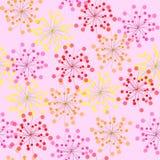 картина цветка безшовная иллюстрация вектора
