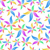 Картина цветка безшовная Стоковое Изображение