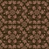 Картина цветка вектора безшовная Стоковые Фото