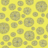 Картина цветка год сбора винограда Стоковые Изображения RF
