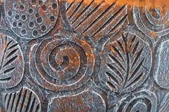 Картина цветка на цветочном горшке Стоковые Фотографии RF