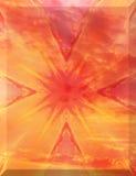 картина цветка осени Стоковые Фото