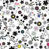картина цветка предпосылки безшовная Стоковая Фотография RF