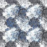 Картина цветка с тропическими заводами Акварель для des цветка стоковое изображение rf