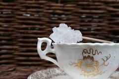 картина цветка чашки Стоковая Фотография RF