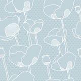 Картина цветка шнурка безшовная Стоковые Фотографии RF