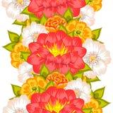 Картина цветка Стоковое фото RF