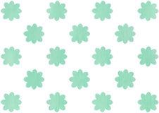 Картина цветков акварели Стоковая Фотография