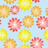 картина цветков безшовная Стоковые Фотографии RF