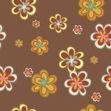 картина цветков безшовная Стоковое Изображение RF