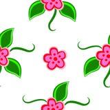 картина цветков безшовная стоковая фотография rf