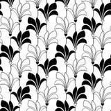 картина цветков безшовная Стоковая Фотография