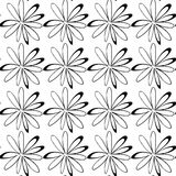 картина цветков безшовная Стоковые Изображения RF