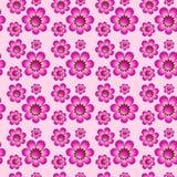картина цветков безшовная Стоковые Фото
