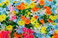 картина цветков предпосылки цветастая Стоковые Фото