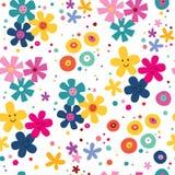 Картина цветков Стоковая Фотография