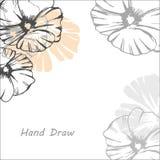 Картина цветков иллюстрация штока