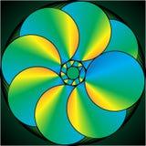 Картина цветного стекла конспекта Стоковые Изображения RF