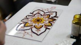 Картина цветного стекла Стоковая Фотография RF