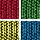 Картина цепных колес безшовная Стоковое Изображение RF