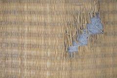 Картина циновки в местном традиционном Таиланде Стоковое Изображение RF
