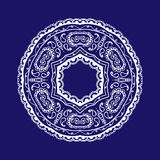 Картина циркуляра шнурка Стоковые Фото
